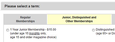 NRA Junior Membership