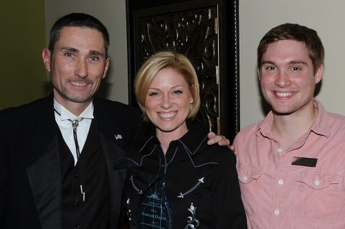 Michael Baker, Rep. Sarah Davis, Christopher Warner