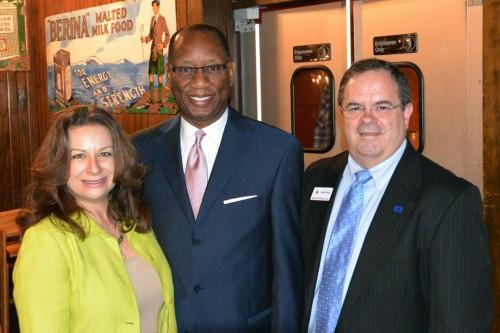 President Sofia Mafrige, Ben Hall, and TexasGOPVote.com writer Bob Price
