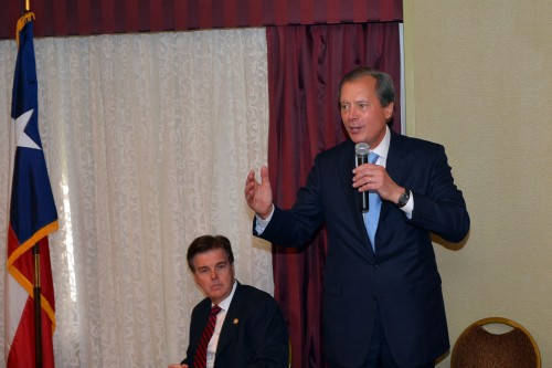 Lt. Gov. David Dewhurst at the RRRW forum 9-16-13.