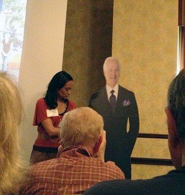 cardboard cut out of John Cornyn