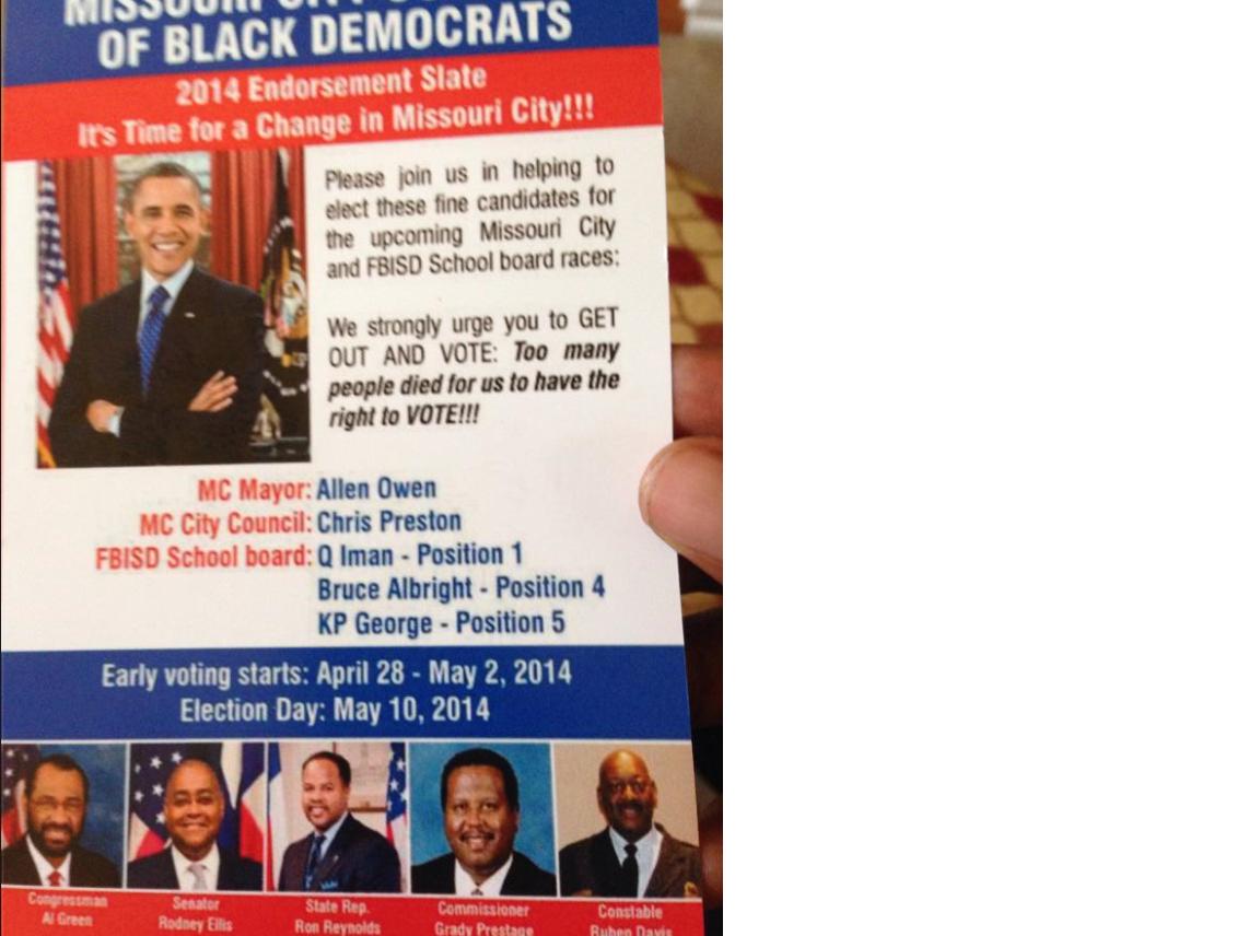 MC black democrats