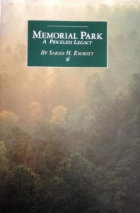 Memorial Park Book Cover 2