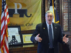 Sheriff Ron Hickman at the Downtown Houston Pachyderm Club 6-4-2015