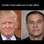 Murder of police officer shows stark contrast between Trump, Obama