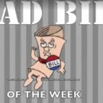 Jonathan Stickland's Bad Bill of the Week swing and miss