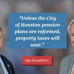 Petition To Stop Mayor Turner's Billion Dollar Pension Boondoggle and Massive Proporty Tax Increase