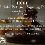 You want Republican Judges in Harris County?