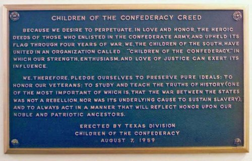 children of the confederacy creed