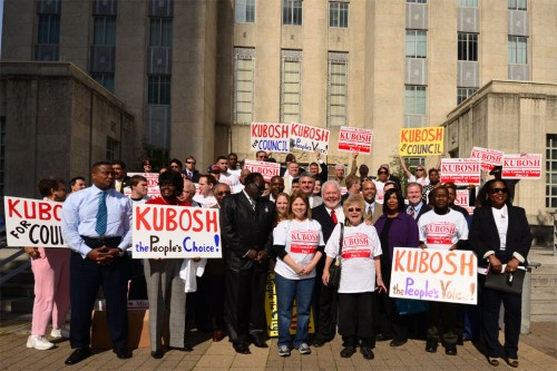 Supporters of Michael Kubosh for City Council, At-Large 3