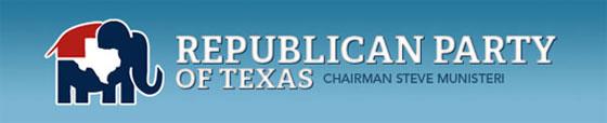 Republican Party of Texas banner