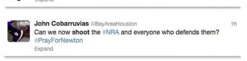 democrat threatening tweet