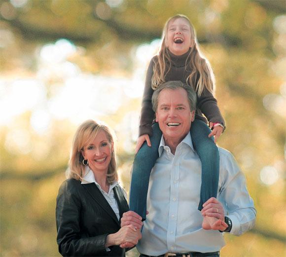 Lt. Gov. David Dewhurst and family