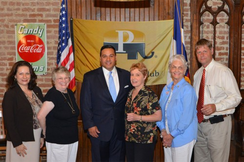 DHPC board with Rep. Jason Villalba