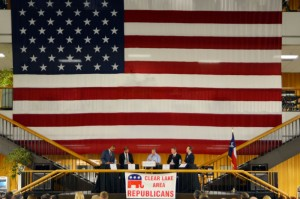 stage for republican party of texas chair debate