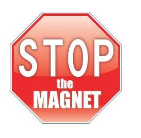 Stop The Magnet logo