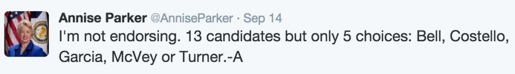 Parker Tweet