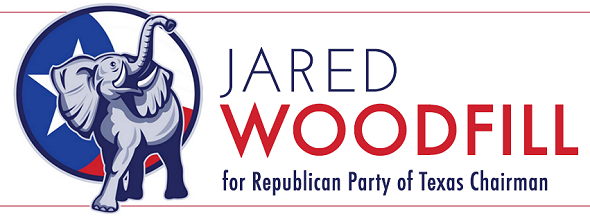 jared woodfill for republican party of texas logo