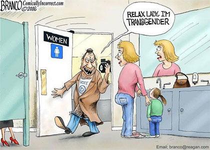 bathroom transgender