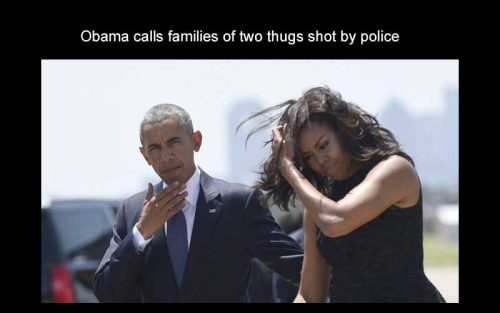 obama calls thugs trump calls heroes