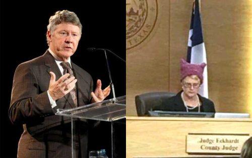 republican ed emmett sarah eckhardt pussy hat