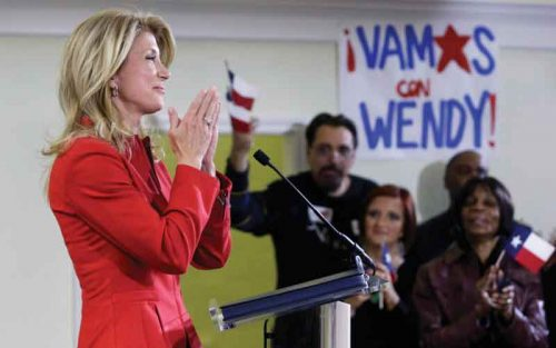 wendy davis texas politics