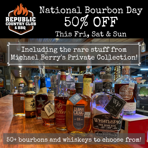 Michael berry bourbon day